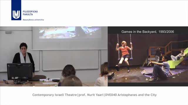 Contemporary Israeli Theatre
